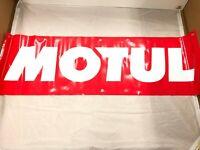 MOTUL MOTOR OIL Banner Vinyl or Canvas Advertising Garage Sing Flag MANY SIZES