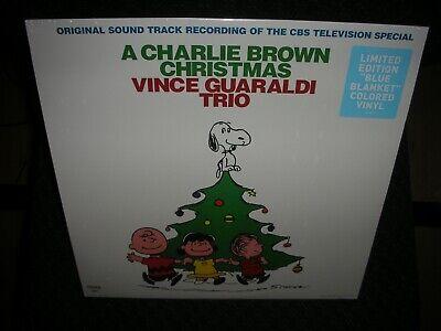 A Charlie Brown Christmas *Vince Guaraldi NEW BLUE BLANKET COLOR RECORD LP VINYL ()