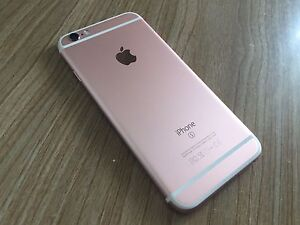 Rose gold iPhone 6s 16 gb Eight Mile Plains Brisbane South West Preview