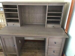 IKEA Hemnes desk and hutch $100