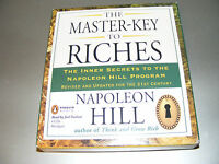 Audiolibro The Master Key To Riches - Napoleon Hill - Penguin - 4 Cd In Inglese -  - ebay.it