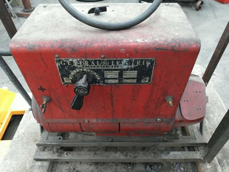 General Electric 6WD3150C1 Aircraft Welder Arc Stick 220V 3-Phase 20-150A