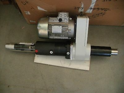 Euroma F.p20.100 Pneumatic 20 Mm Drilling Tapping Head 2 Hp 230 460 Vac 3 Phase