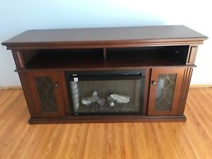 Napoleon electric fireplace tv stand