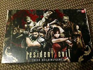 Resident Evil the deck building game +promos bandai