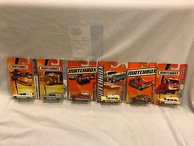 Lot 6 Matchbox 1963 Cadillac Hearse & Ambulance Variations 2007-2011 NEW NIP