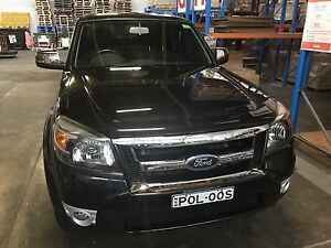2010 Ford Ranger PK XLT (4x4) Black 5 speed manual Collaroy Manly Area Preview