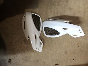 Hand guards for a dirt bike