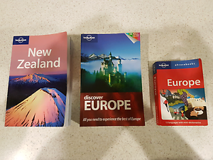 Travel Guides for NZ & Europe + Europe Phrasebook Bellbird Park Ipswich City Preview