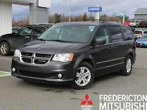 2017 Dodge Grand Caravan Crew 7-PASSENGER | HEATED LEATHER |...