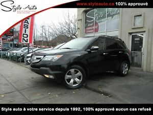 2009 Acura MDX Elite Pkg TV/DVD NAV