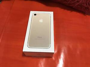 New Sealed IPhone 7 256GB  GOLD Belmore Canterbury Area Preview