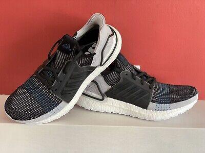 Adidas Ultra Boost 19 Size U.K. 9.5 Black Grey BRAND NEW WITH BOX!