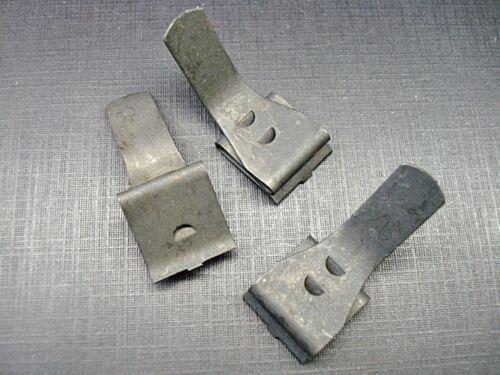 3 pcs Mustang Torino Fairlane dash pad retainer clips NOS D1AZ-6504278-A