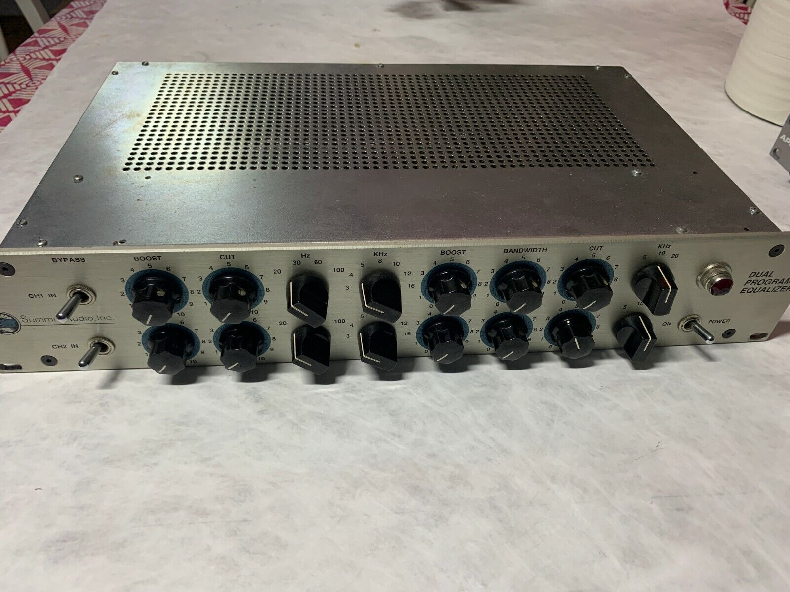 Summit Audio Dual Channel Program Equalizer / Tube EQ . Buy it now for 1740.00