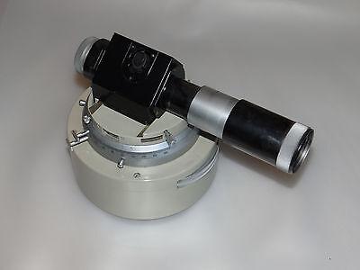 Vickers Metallurgical Projection Microscope - Illumination Adjustment Element