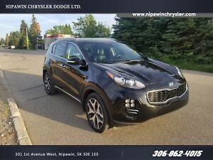 2017 Kia Sportage SX Turbo AWD  Heated Leather  Panoramic Sunroo