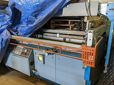 Silk Screen Printing Press Mr Take Off System Vitran Unit 52x120 Squeegees