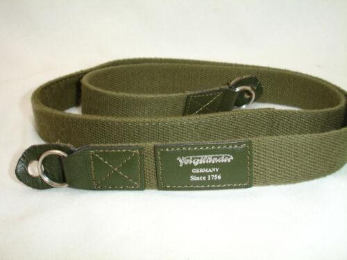 Voigtlander Deluxe Camera Strap , Green , genuine Voigtländer