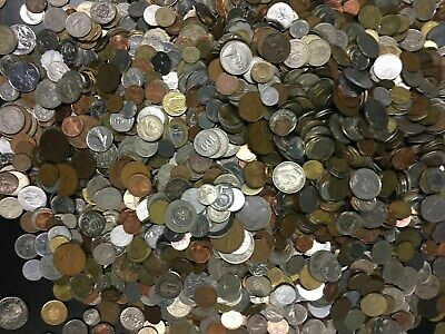 Bulk Lot 45 FOREIGN WORLD COINS No Duplicates in each Lots... ()