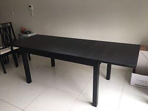 Bjursta table and chairs North Parramatta Parramatta Area Preview