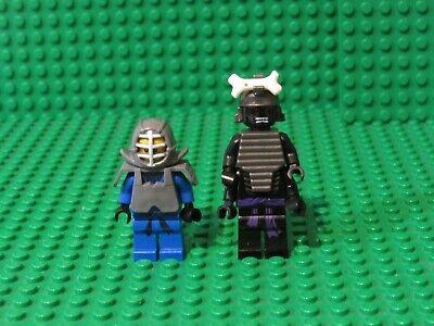Lot of 2 Lego Ninjago Minifigures 9446 Kendo Jay + Lord Garmadon 4 arms JL46