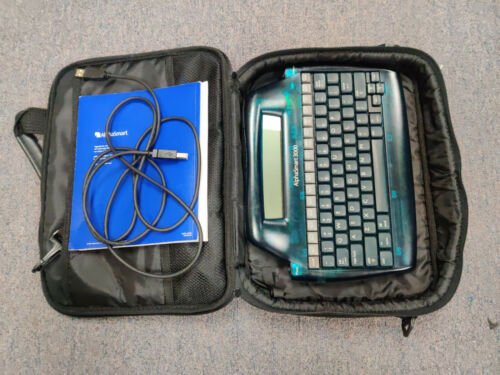 Alphasmart 3000 Portable Laptop Keyboard Word Processor with USB cable 1R1261