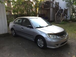 $$$ 2200$$$ HONDA CIVIC 2005 185000KM $$$ 2200$$$