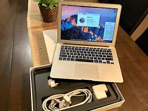 MacBook Air 13inch 2013, 1.3Hz, 4GB RAM, 120GB SSD with box Redcliffe Redcliffe Area Preview