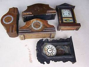 ANTIQUE CLOCKS JOB LOT OF 5 CLOCKS Newcastle Newcastle Area Preview