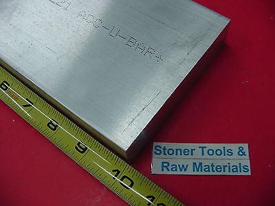 58 X 4 Aluminum 6061 Flat Bar 10 Long Solid T6511 Plate New Mill Stock .625