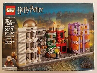 LEGO 40289 Harry Potter Diagon Alley Mini Building New 374 Pieces