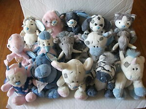BRAND-NEW-WITH-TAGS-4-MY-BLUE-NOSE-FRIENDS-SOFT-TOYS-VARIOUS-RARE-CHARACTERS