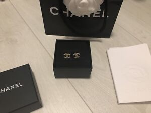Authentic Chanel earrings NEW
