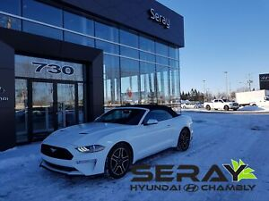 2018 Ford Mustang decapotable EcoBoost Premium cuir navigation