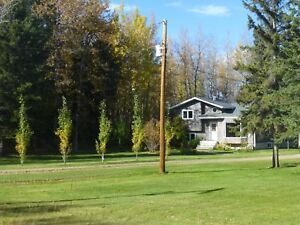 30 Acres with Split Level and 36 X 60 Shop - Drayton Valley