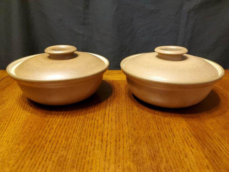 "Heath Ceramics 2 Casserole Bowl W/ Lid 7 1/2"" USA  MINT Condition"
