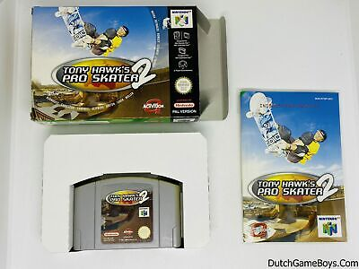 Nintendo 64 - N64 - Tony Hawk´s Pro Skater 2 - UKV