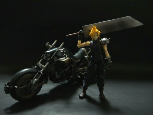 Final Fantasy VII 7 Play Arts Cloud Strife Hardy-Daytona Figure Kotobukiya Japan