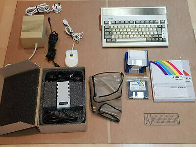 COMMODORE AMIGA 600HD WORKING WITH NEW POWER PACK