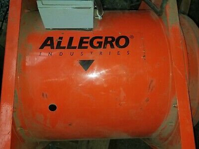 Allegro 9516 Fan 5500 Cfm 2hp 120 Volt Confined Space Ventilation Axial Blower