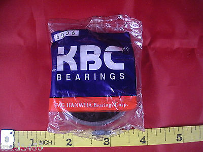 Kbc 6006dd Ball Bearing Deep Groove Id 30mm Od 55mm B 13mm 6006v 6006d Fag New