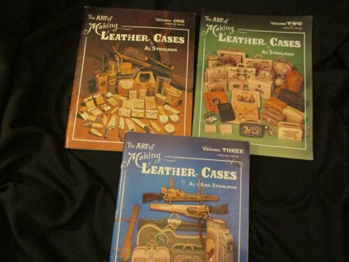 Al Stohlman Vol. 1,2 &3  The Art of Making Leather Cases