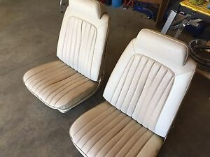 1971 Chevelle bucket seats