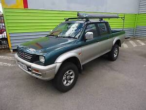 MITSUBISHI TRITON 4X4 DUAL CAB UTE 1999,5SPEED,AIR,STEER,REGO Beverley Charles Sturt Area Preview