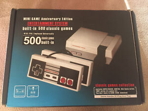 Mini NES Nintendo 500 games built in.