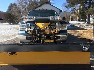 2005 F250 with Fisher Plow