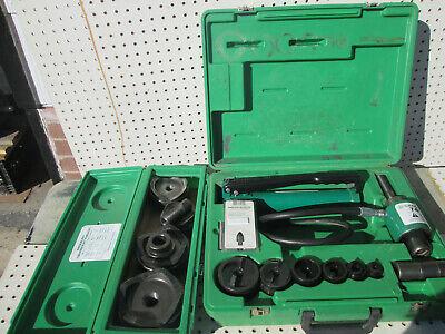 Rebuilt Greenlee 7306sb -2 7304 2-4 Slugbuster Knockout 767 Pump 746 Ram