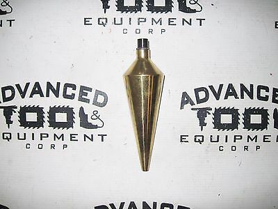 7 Inch Heavy Duty Survey Brass Plumb Bob For Surveying Transits Pipe Lasers