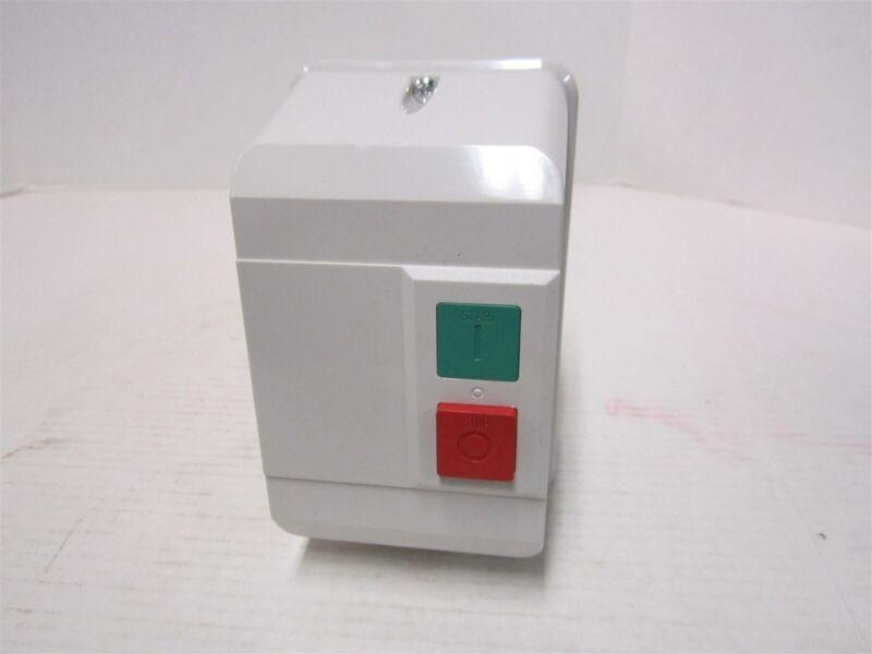 IEC Contactor Nonreverse 120VAC 9A Motor Starter NEMA 12, 3P Push Button (2UXV2)